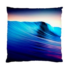 Rolling Waves Standard Cushion Case (one Side)