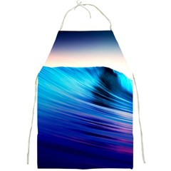 Rolling Waves Full Print Aprons