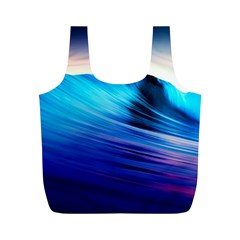 Rolling Waves Full Print Recycle Bags (m)