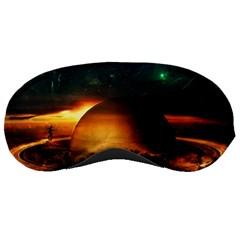 Saturn Rings Fantasy Art Digital Sleeping Masks
