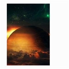Saturn Rings Fantasy Art Digital Small Garden Flag (two Sides)