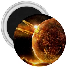 Sci Fi Planet 3  Magnets