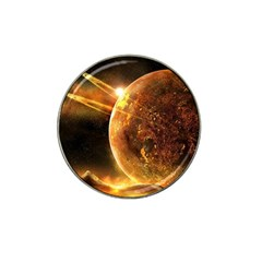 Sci Fi Planet Hat Clip Ball Marker