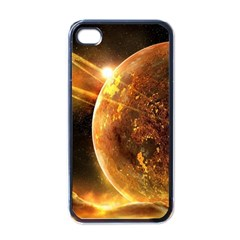 Sci Fi Planet Apple Iphone 4 Case (black)