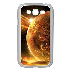 Sci Fi Planet Samsung Galaxy Grand Duos I9082 Case (white)