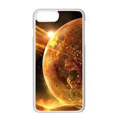 Sci Fi Planet Apple Iphone 7 Plus White Seamless Case