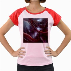 Shells Around Tubes Abstract Women s Cap Sleeve T Shirt