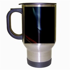 Shells Around Tubes Abstract Travel Mug (silver Gray)