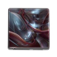 Shells Around Tubes Abstract Memory Card Reader (square)