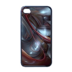 Shells Around Tubes Abstract Apple Iphone 4 Case (black)