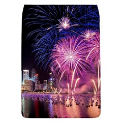 Singapore New Years Eve Holiday Fireworks City At Night Flap Covers (l)