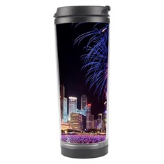Singapore New Years Eve Holiday Fireworks City At Night Travel Tumbler