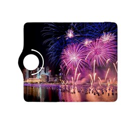 Singapore New Years Eve Holiday Fireworks City At Night Kindle Fire Hdx 8 9  Flip 360 Case