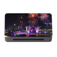 Singapore The Happy New Year Hotel Celebration Laser Light Fireworks Marina Bay Memory Card Reader With Cf
