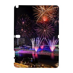 Singapore The Happy New Year Hotel Celebration Laser Light Fireworks Marina Bay Galaxy Note 1