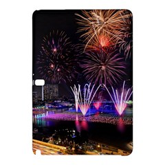 Singapore The Happy New Year Hotel Celebration Laser Light Fireworks Marina Bay Samsung Galaxy Tab Pro 10 1 Hardshell Case