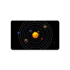Solar System Magnet (name Card)
