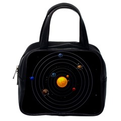 Solar System Classic Handbags (one Side)