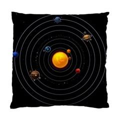 Solar System Standard Cushion Case (one Side)