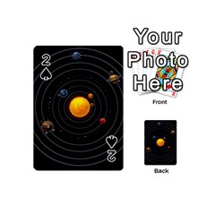Solar System Playing Cards 54 (mini)