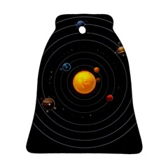 Solar System Bell Ornament (two Sides)