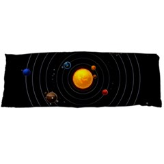 Solar System Body Pillow Case Dakimakura (two Sides)