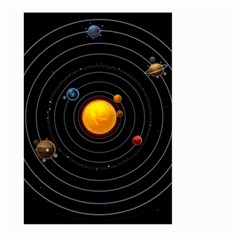 Solar System Large Garden Flag (two Sides)
