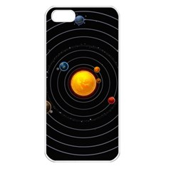 Solar System Apple Iphone 5 Seamless Case (white)