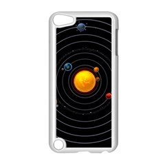 Solar System Apple Ipod Touch 5 Case (white)