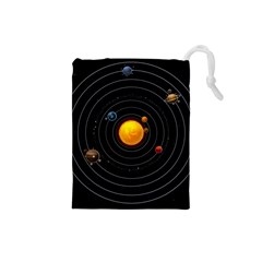 Solar System Drawstring Pouches (small)