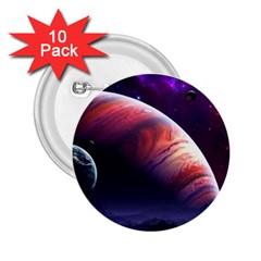 Space Art Nebula 2 25  Buttons (10 Pack)