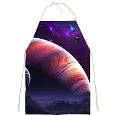 Space Art Nebula Full Print Aprons