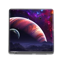 Space Art Nebula Memory Card Reader (square)