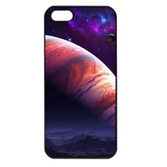 Space Art Nebula Apple Iphone 5 Seamless Case (black)