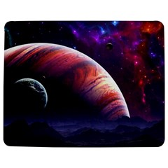 Space Art Nebula Jigsaw Puzzle Photo Stand (Rectangular)