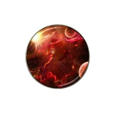 Space Red Hat Clip Ball Marker (10 Pack)