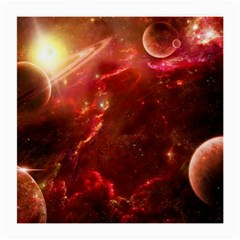 Space Red Medium Glasses Cloth (2 Side)