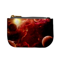 Space Red Mini Coin Purses