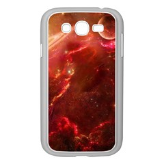 Space Red Samsung Galaxy Grand Duos I9082 Case (white)