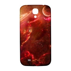 Space Red Samsung Galaxy S4 I9500/i9505  Hardshell Back Case