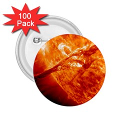 Spectacular Solar Prominence 2 25  Buttons (100 Pack)