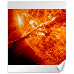Spectacular Solar Prominence Canvas 11  X 14