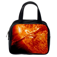 Spectacular Solar Prominence Classic Handbags (one Side)