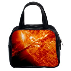 Spectacular Solar Prominence Classic Handbags (2 Sides)