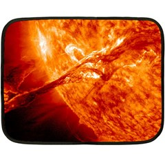 Spectacular Solar Prominence Fleece Blanket (mini)