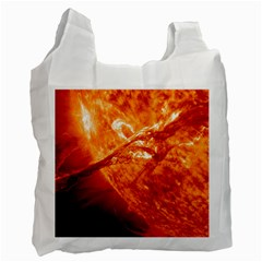 Spectacular Solar Prominence Recycle Bag (one Side)