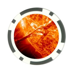 Spectacular Solar Prominence Poker Chip Card Guard (10 Pack)