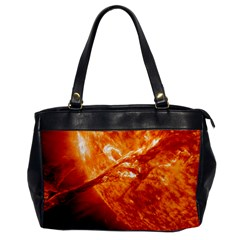 Spectacular Solar Prominence Office Handbags
