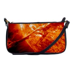 Spectacular Solar Prominence Shoulder Clutch Bags