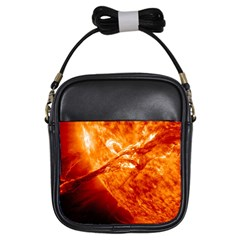 Spectacular Solar Prominence Girls Sling Bags